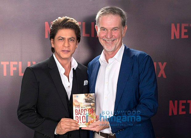Shah Rukh Khan's production partners with Netflix on original series based on 'Bard of Blood' book