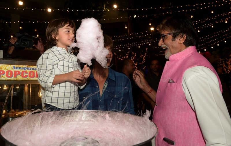 AbRam thinks Big B is SRK's 'papa'; read here why