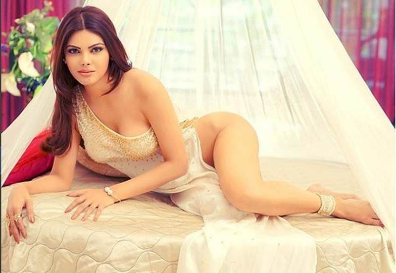Extremely bold pictures! Sherlyn Chopra goes semi-nude in her latest photoshoot