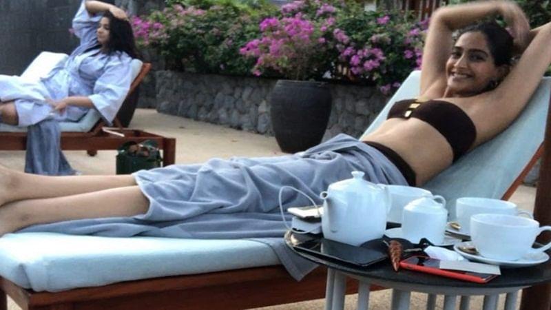 Body Shaming: Sonam Kapoor trolled for looking 'flat' in bikini