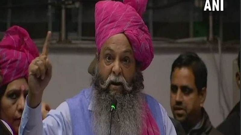 Padmaavat row: BJP leader Surajpal Amu back in Haryana jail