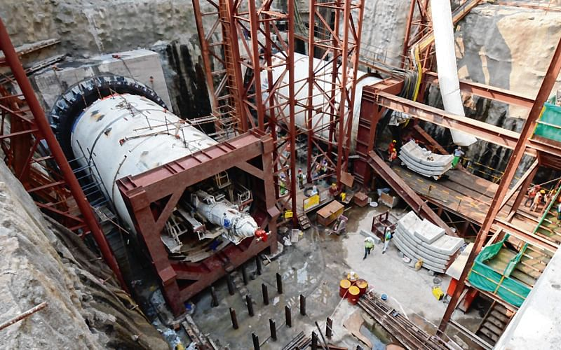 Mumbai: MMRC starts tunnelling work for Metro 3 between Azad Maidan to Grant Road