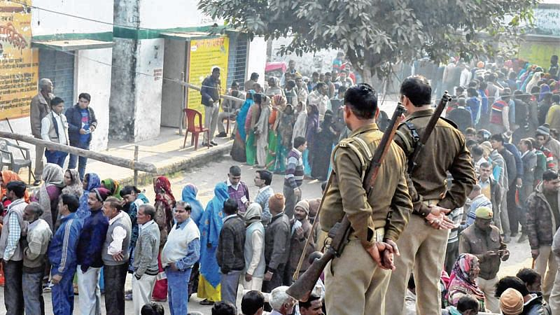 Bogus voting, violence mar UP civic polls final phase