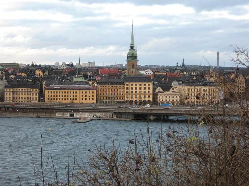 Stockholm: Combining medieval and the modern