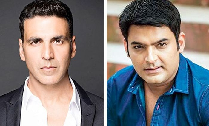 When Akshay Kumar gave a pep talk to Kapil Sharma