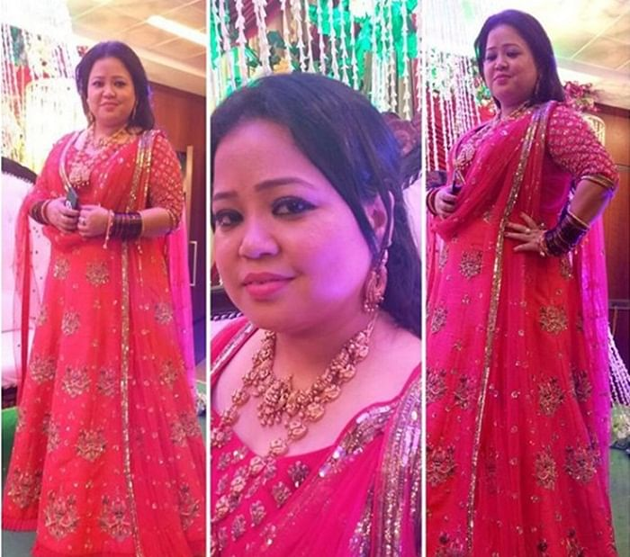 Bharti Ki Baraat: Anita Hassanandani, Adaa Khan at Bharti Singh's bangle ceremony; see pics