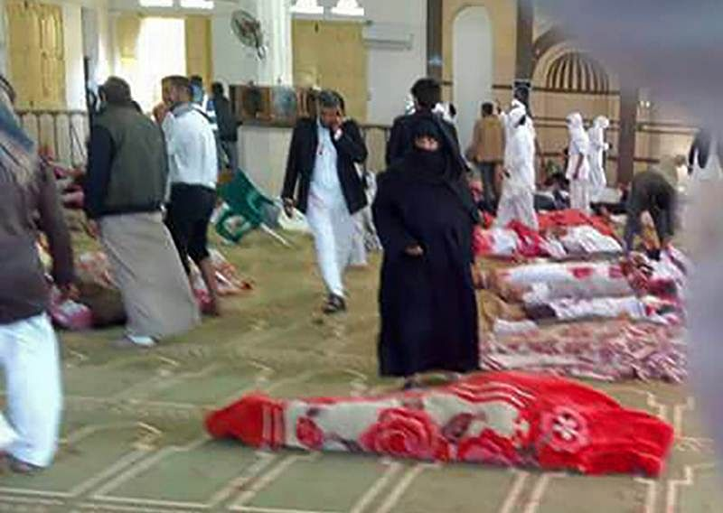 184 killed in militant attack on Egypt mosque