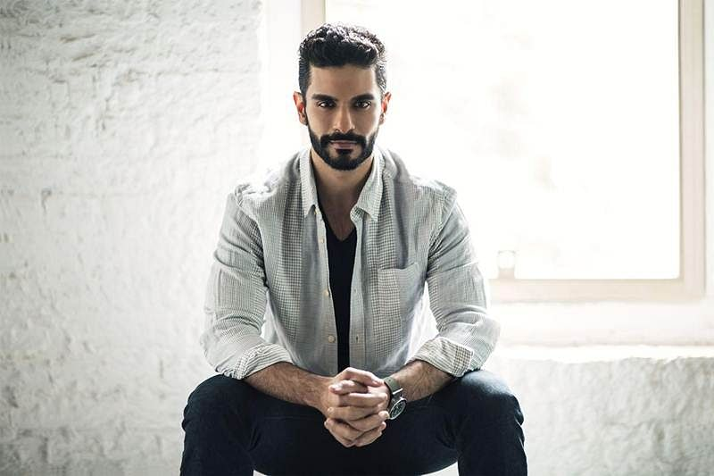 Angad Bedi says his father is happy with movie choices