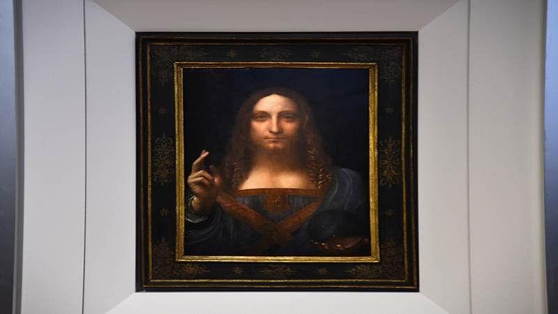Leonardo da Vinci artwork auctioned for $450.3 mn