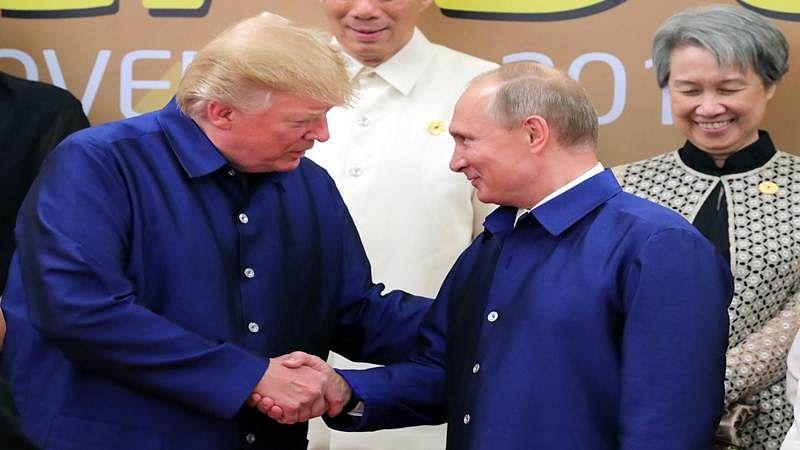 Vladimir Putin thanks Donald Trump for CIA's help in thwarting attack plot