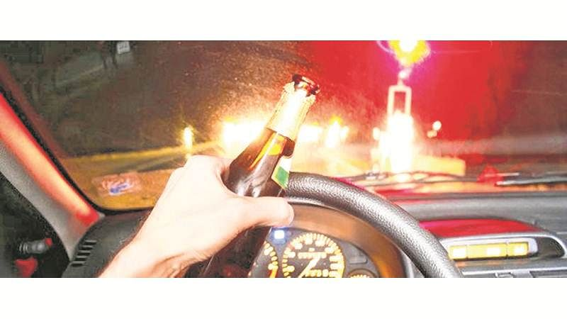 Drunk driving: Huge dip in cases on New Year Eve