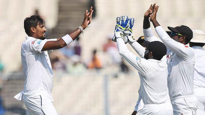 India vs Sri Lanka 2017 Test series: Sri Lanka fights back as India's lead crosses 125