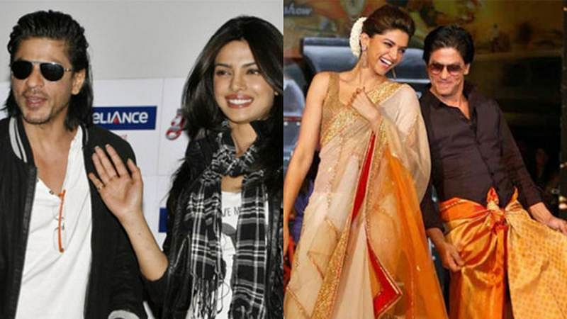 OMG! Shah Rukh Khan wants Priyanka Chopra replaced by Deepika Padukone in Don 3?