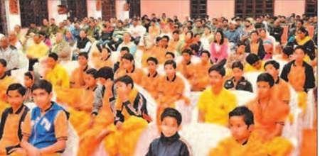 Ujjain: Religious meeting organised in presence of veteran seer