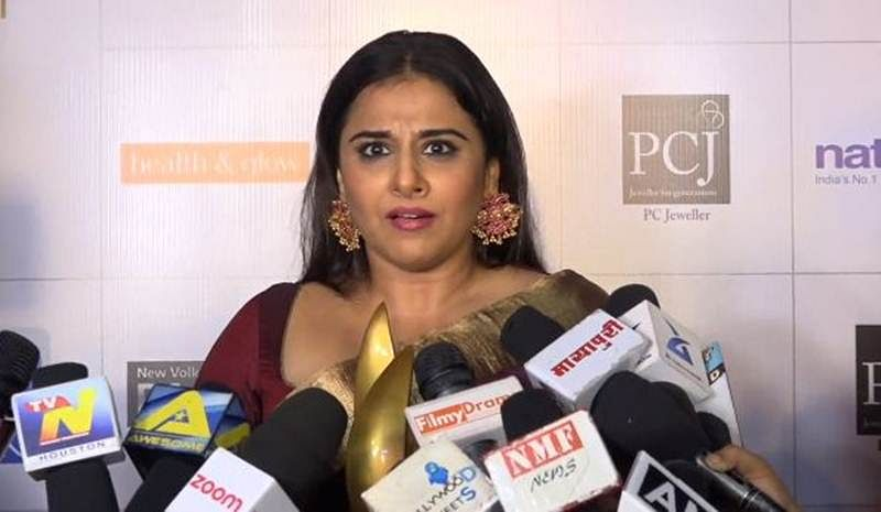 Vidya Balan slams a journalist who asked her if she would lose weight for glamourous role