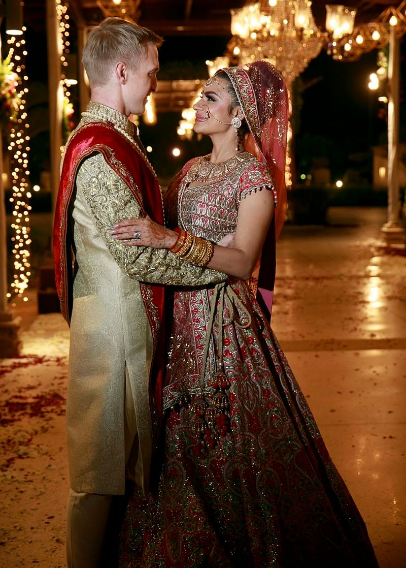 In Pictures: Aashka Goradia-Brent Goble tie the knot in traditional Indian wedding in Ahemdabad