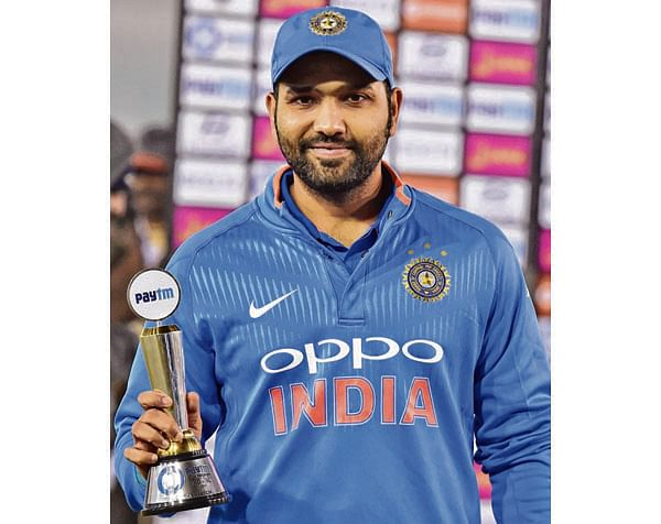 Was determined not to throw away wicket: Rohit