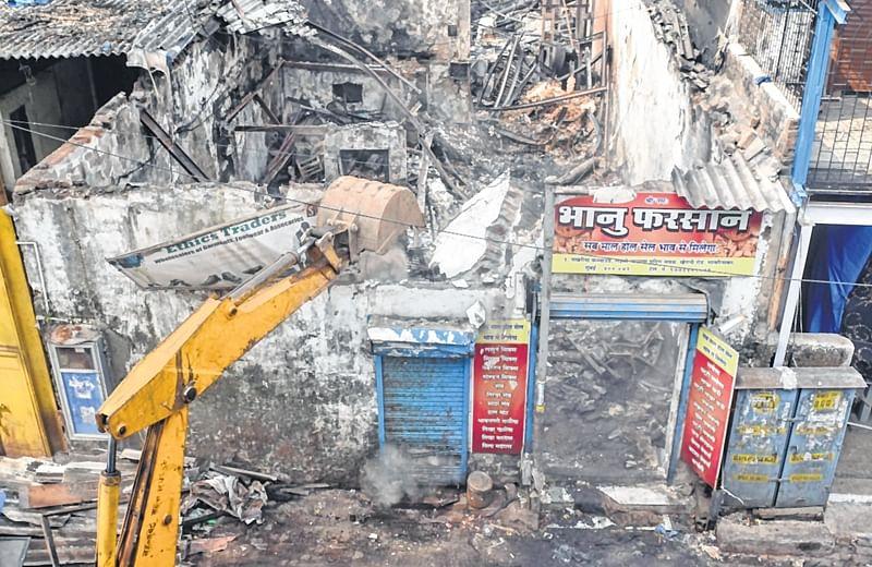 Mumbai farsan shop fire: Four bodies remain unclaimed