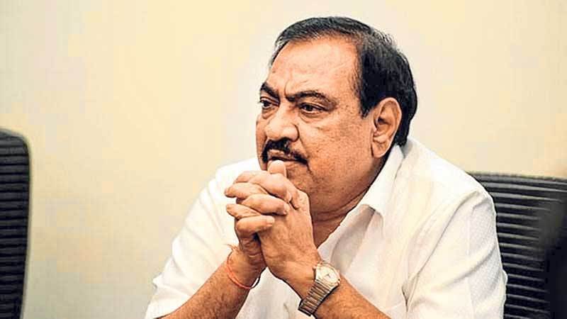 Not keen on returning to Maharashtra cabinet, says Eknath Khadse