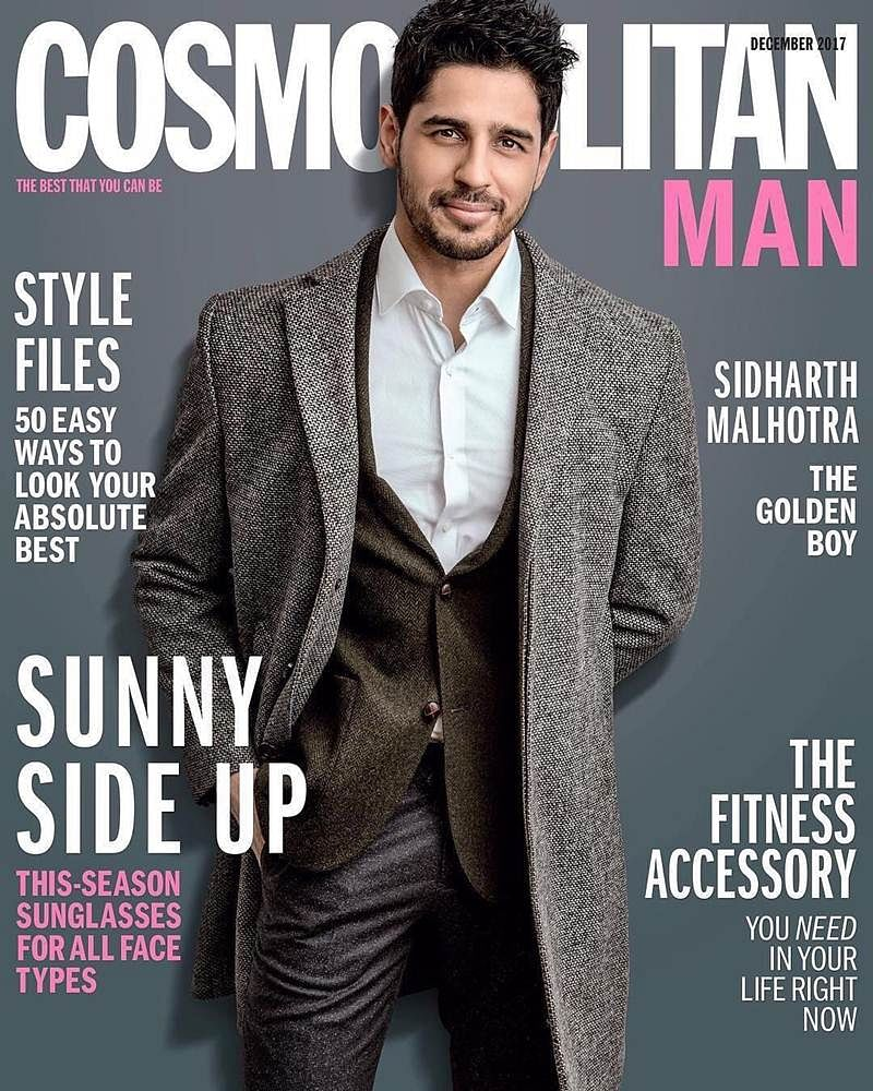 Sidharth Malhotra oozes a drop dead dapper quotient on the cover of a leading men's magazine!