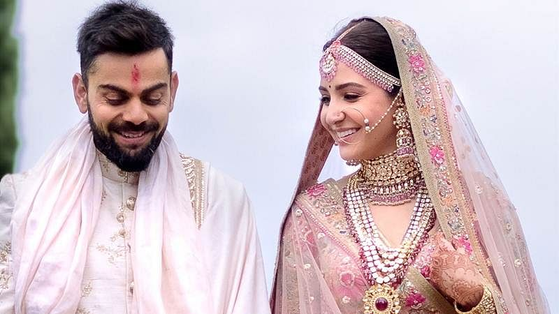 Picture of Virushka's Delhi wedding reception goes viral; take a look