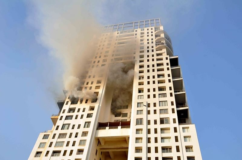 Mumbai: Walkeshwar tower residents help douse blaze in 17th floor duplex