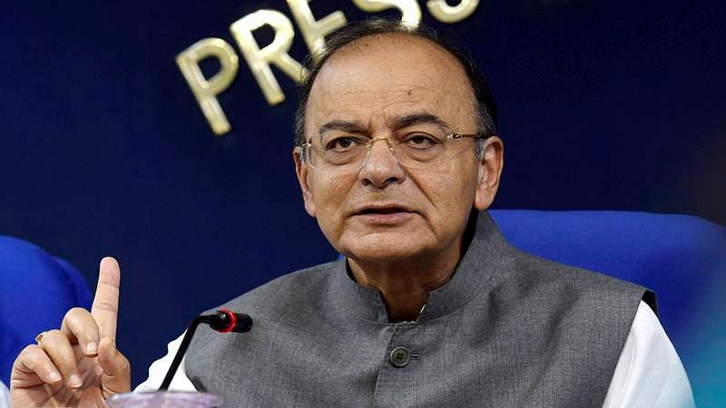Arun Jaitley returns as FM, meets officials
