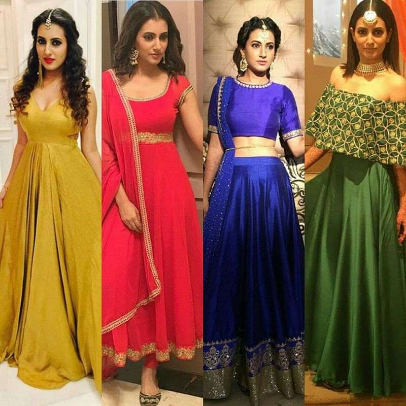 Style Files! TV actresses will help you to look unique this wedding season