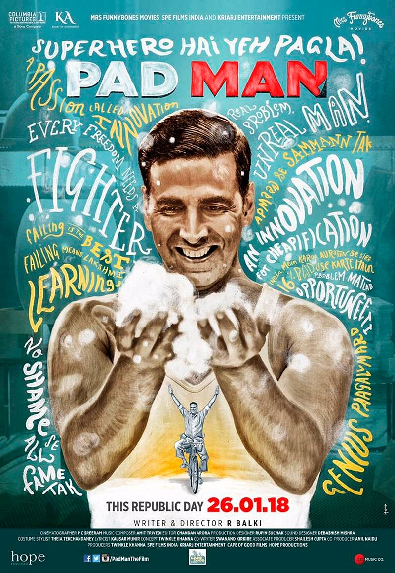 PadMan new poster: Akshay Kumar has million tales to tell