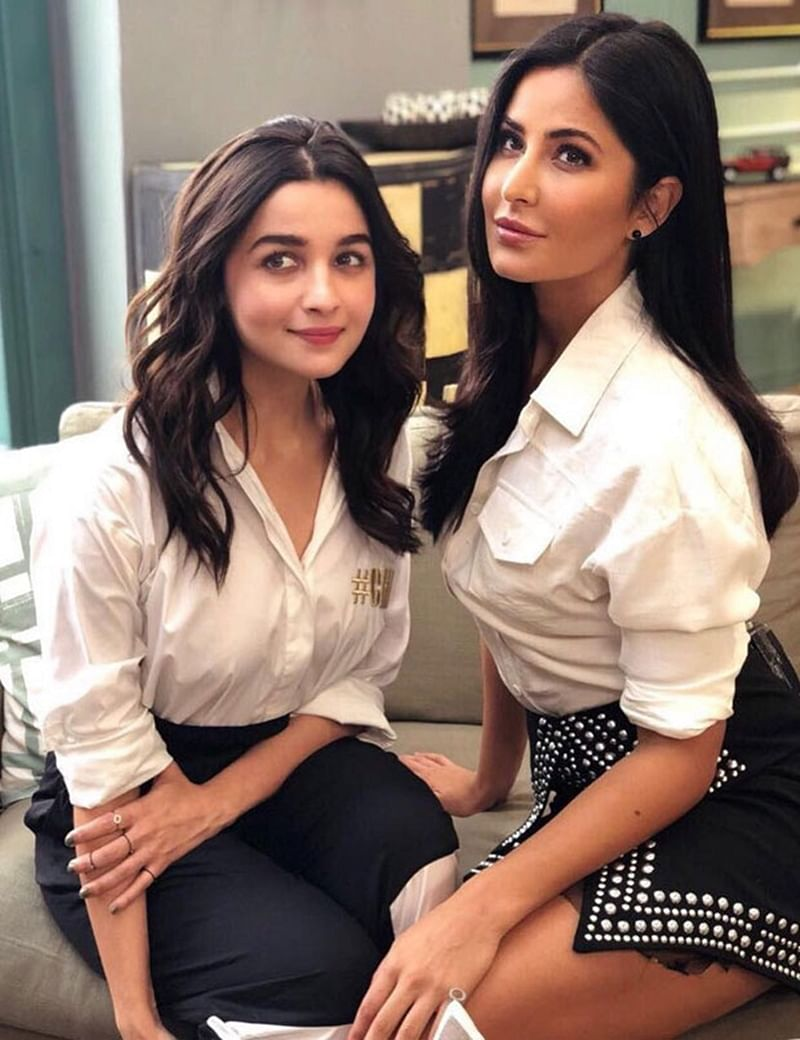 New best friends of B-town Alia Bhatt and Katrina Kaif prove their friendship