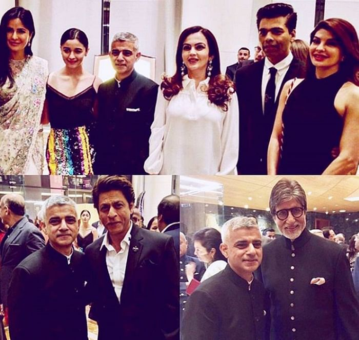 Ambani bash Pictures: Amitabh, Shah Rukh, Katrina and Alia at Antilla