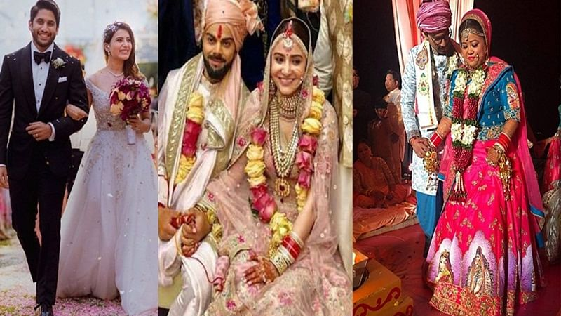 Flashback 2017! Anushka Sharma-Virat Kohli to Zaheer Khan-Sagarika Ghatge: Celebs who tied the knot in 2017