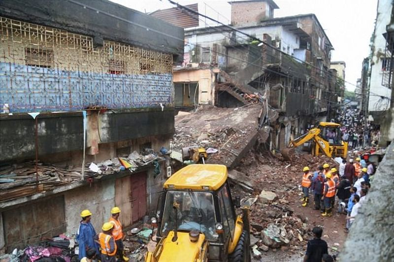 Mumbai: 5 civic officials suspended for Bhiwandi building collapse
