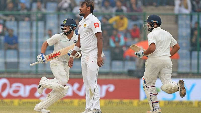 India vs Sri Lanka 3rd Test Day 4: India declare second innings on 246/5