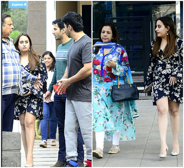 Check out: Varun Dhawan dines with rumoured girlfriend Natasha Dalal and friends