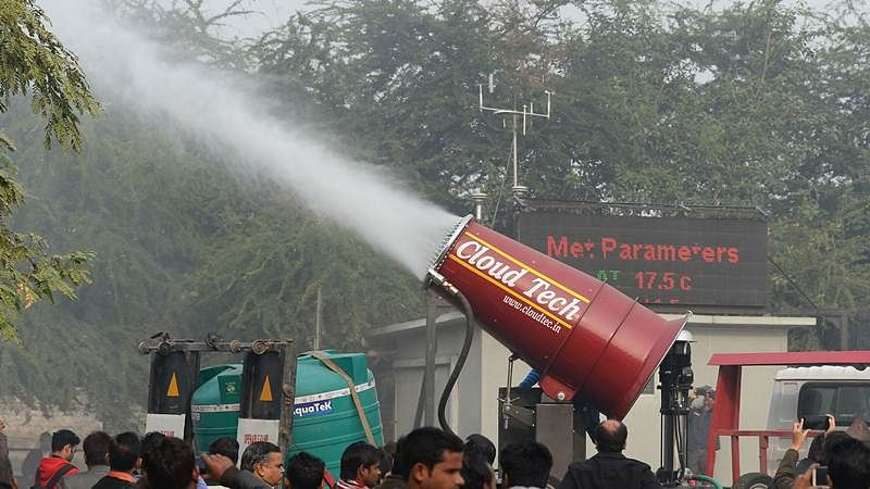 Delhi Pollution: 'Anti-smog gun' trials begin in Anand Vihar, see photos
