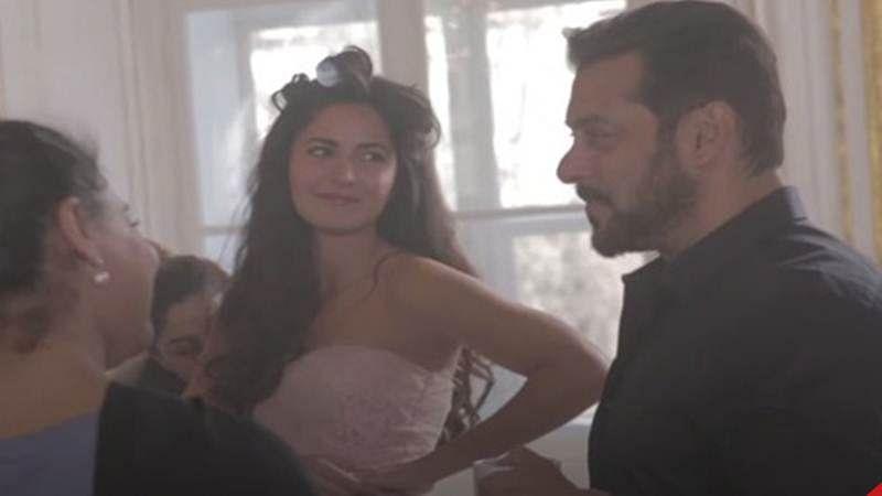 'Dil Diyan Gallan' making video: Salman Khan and Katrina Kaif goofing around is a fun watch