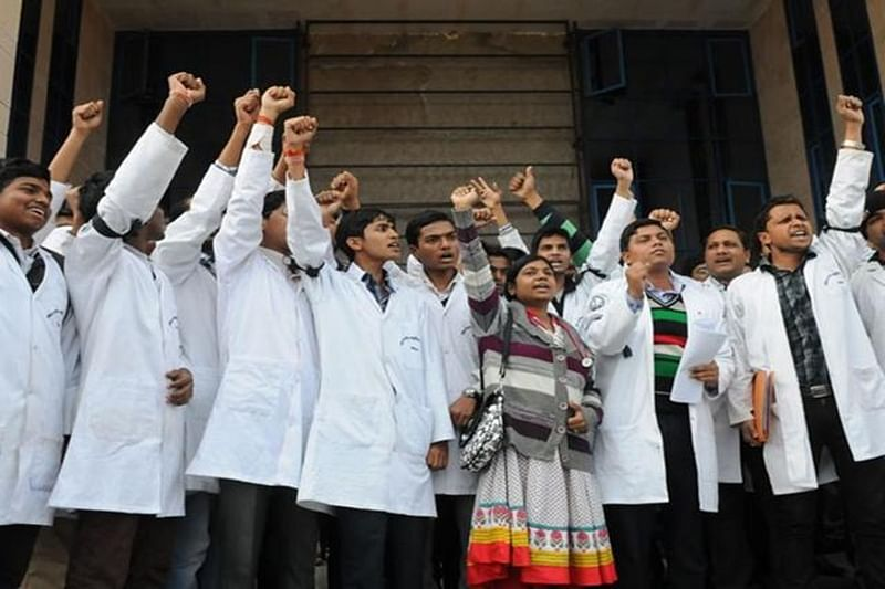 NMC Bill: Doctors, students observe token strike across India
