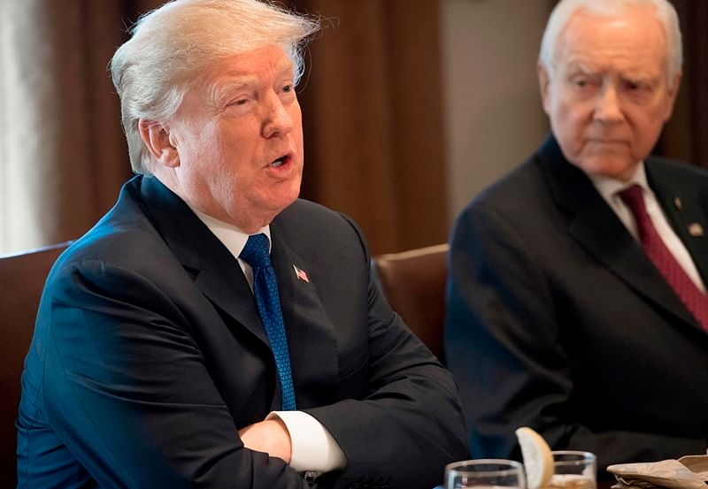 President Donald Trump promises 'giant tax cut' as 'Christmas gift' to Americans