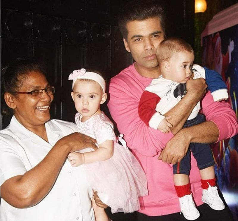 Ekta Kapoor Christmas Bash: Karan Johar enjoys party with lovely twins Yash and Roohi; see pics