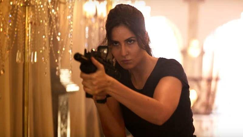 Here's a look at Katrina Kaif's action training for Tiger Zinda Hai