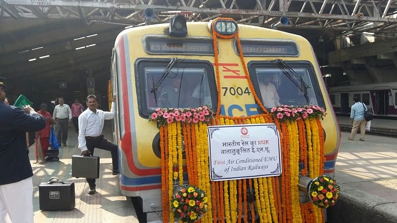 On 1st day of AC local train, ticket-less traveller nabbed