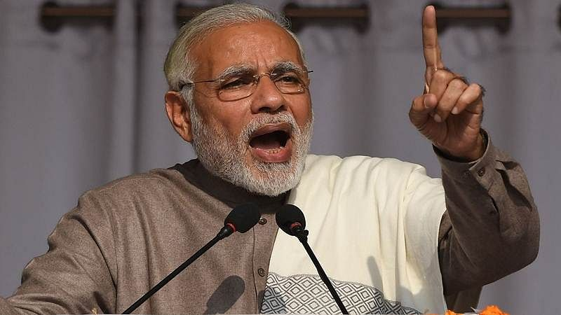 """Communist Party does not believe in 'gantantra' they believe in violence and gun-tantra"", says PM Modi"