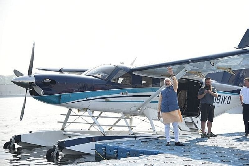 Gujarat Assembly Election 2017: Vikas comes gliding on a seaplane