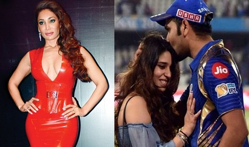 OMG! Sofia Hayat takes a dig at Rohit Sharma and wife's touching moment at Mohali