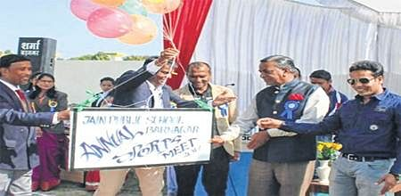 Ujjain: Olympic motto 'Altius' reverberates at JPS's annual sports meet