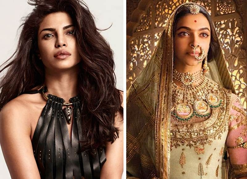 "Padmavati row: ""I will always stand by not just Sanjay Leela Bhansali sir but also Deepika, Ranveer and Shahid,"" says Priyanka Chopra"