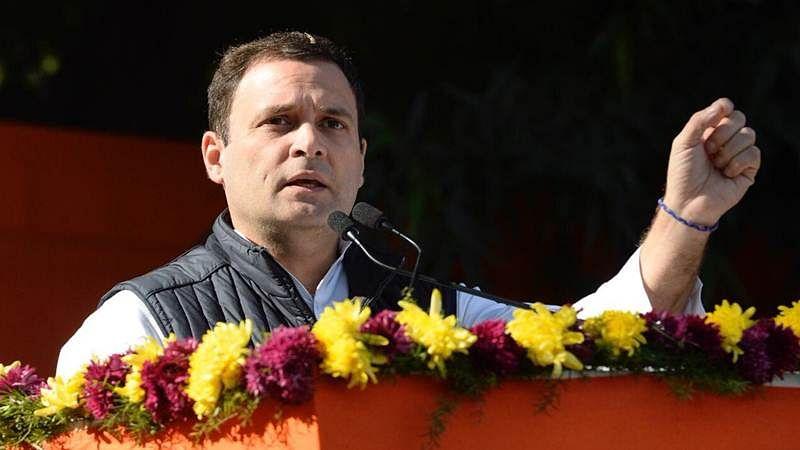 Congress' fast at Rajghat: Rahul Gandhi terms PM Narendra Modi anti-Dalit, BJP's ideology oppressive