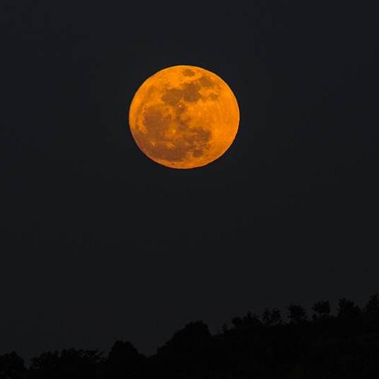 Super Pink Moon on April 8: Where and when to watch the biggest, brightest full moon of the year