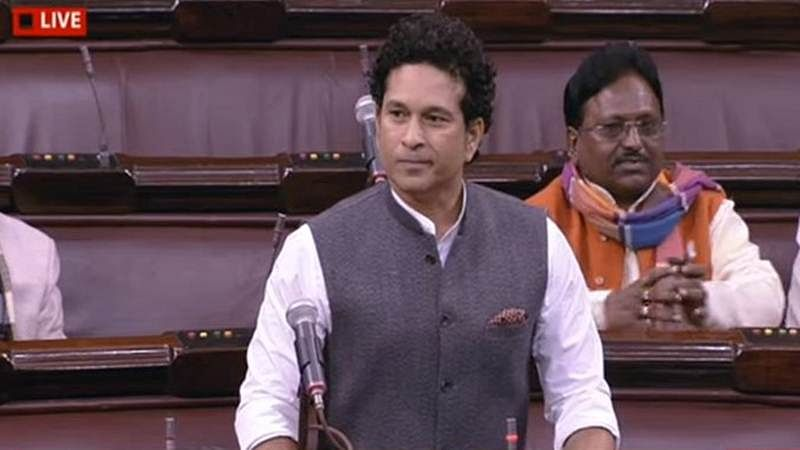 Denied in Parliament, Sachin delivers his 'Rajya Sabha speech' on social media